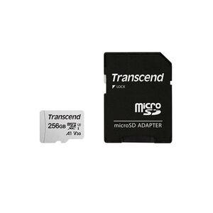 Memorijska kartica SD Transcend 300S 256GB HC Class UHS-I U3 A1 + adapter