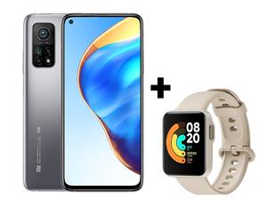 Xiaomi Mi 10T 5G 6GB/128GB srebrna, mobitel + poklon Xiaomi Mi Watch Lite sat, ivory
