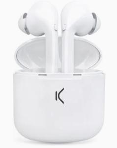 KSIX bežične true buds slušalice sa mikrofonom,bijele