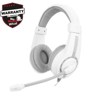 Slušalice RAMPAGE SN-R1, mikrofon, bijele
