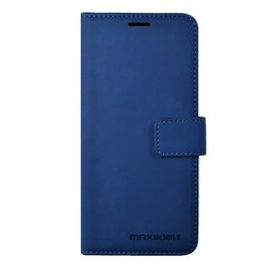 MM kožna torbica za Samsung Galaxy A12, elegant wallet, plava
