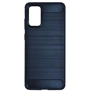 MM silikonska maska za Samsung Galaxy A12, carbon fiber, crna