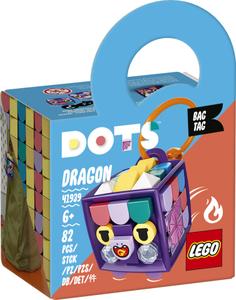 LEGO DOTS Privjesak za torbu zmaj 41939
