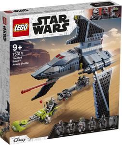 LEGO Star Wars Napadački brod Bad Batch™ 75314