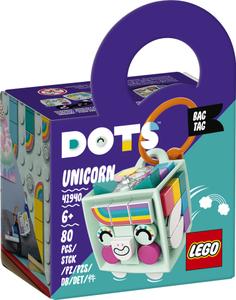 LEGO DOTS Privjesak za torbu jednorog 41940