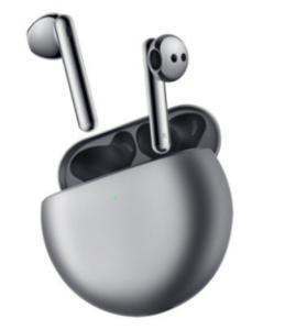 Huawei Freebuds 4 Silver Frost, TWS slušalice, Adaptive Ear Matching