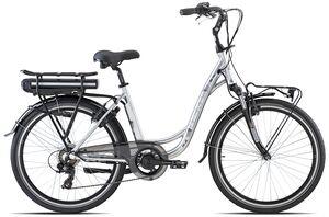 OLYMPIA električni bicikl ENERGO 26 COMFORT, srebrni, vel.M