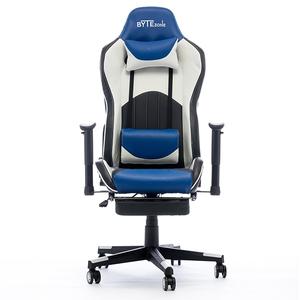 Bytezone Dolce gaming stolica, masažni jastuk, crno/plava