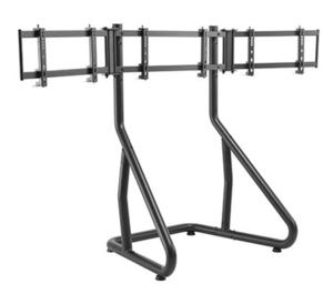 Spawn racing simulator triple monitor floor stand, trostruki podni stalak za monitor