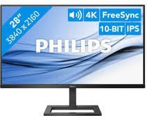 Philips monitor 288E2A/00, 4K, IPS, 60Hz, 4ms