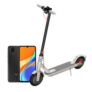 XIAOMI električni romobil  Mi Scooter 3 sivi + POKLON Xiaomi Redmi 9C NFC