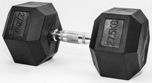 FITMOTIV gumirana bučica Hex 27,5 kg