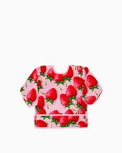 Twistshake Long Sleeve podbradnjak Strawberry