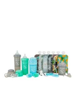 Twistshake Set bočica - plavi promo pack