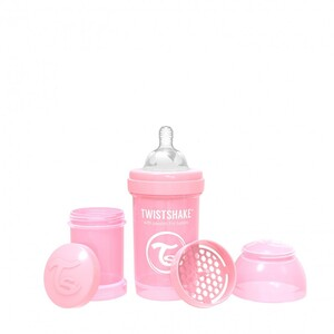Twistshake bočica Anti-Colic 180ml Pastel Pink