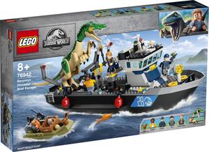 LEGO Jurassic World Bijeg Baryonyxa na brodu 76942