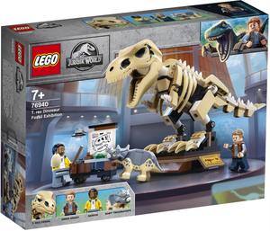 LEGO Jurassic World Izložba fosila T. Rexa 76940