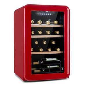 Klarstein Vintage 19 hladnjak za pića, Crvena