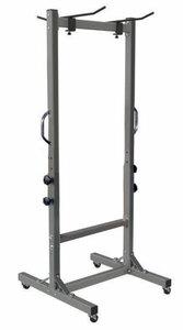 TOORX pokretni stalak za podloge za vježbanje