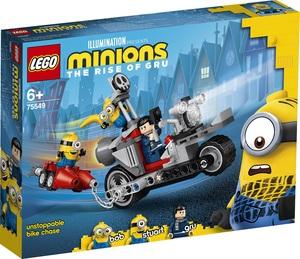 LEGO Minions Nezaustavljiva motociklistička potjera 75549