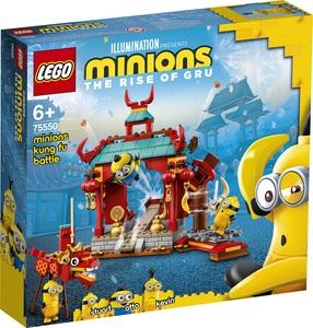 LEGO Minions Malci, kung fu borci 75550