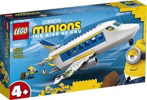 LEGO Minions Malac na pilotskom treningu 75547