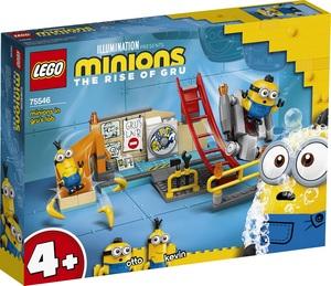 LEGO Minions Malci u Gruovu labosu 75546