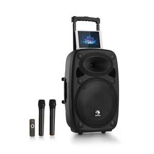 """Auna Pro Streetstar 12 mobilni PA uređaj12"""" subwoofer trolley BT USB/SD/MP3 / AUX"""