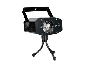 MANTA laserski projektor rotiranje, treperenje, reakcija na glazbu MDL011