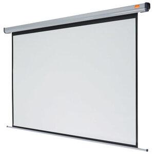 E-View projekcijsko platno MS180/178×178cm, zidno, ručno