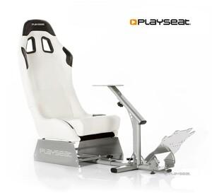 Playseat Evolution racing simulator cockpit, bijeli