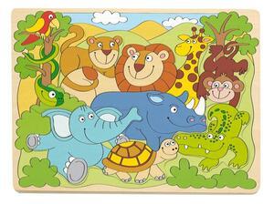 Woody puzzle – afričke životinje
