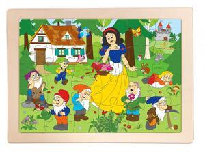 "Woody drvene puzzle ""Snjeguljica"""