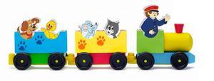 Woody životinjski vlak