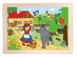 """Woody drvene puzzle """"Crvenkapica"""""""