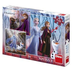 Disney Frozen 2 puzzle - 3X55