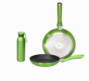 Tognana Shiny Green set 2 tave 24/28 + termos