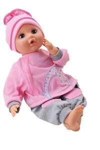 Bambolina lutka s pokretnim ustima, priborom i zvukom 40 cm