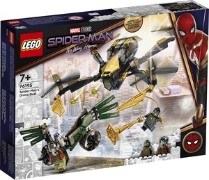 LEGO Super Heroes Spider-Man u dvoboju dronova 76195