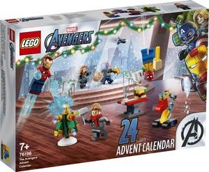LEGO Super Heroes Osvetnici Adventski kalendar 76196