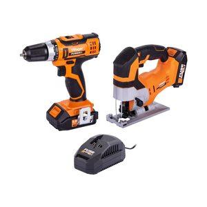 VILLAGER FUSE akumulatorski set  (bušilica VLN 3220+ uboddna pila VLN 1120) 066252