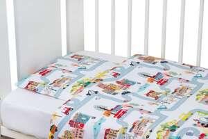 Bubaba posteljina 2-djelna veseli grad