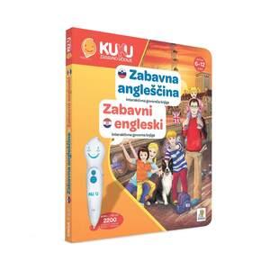 KUKU interaktivna knjiga - Zabavni engleski - BEZ OLOVKE