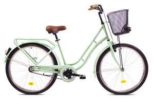 CAPRIOLO gradski bicikl CTB PICNIC 26'HT zelena