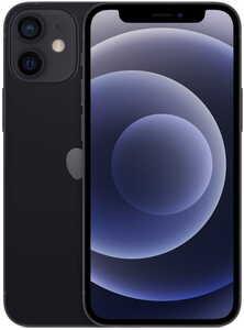 Apple iPhone 12 mini 64GB Black, mobitel RT