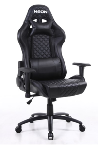 NEON Gaming stolica eSports Warrior, crna RT