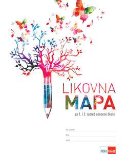 LIKOVNA MAPA 1-2, za 1. i 2. razred osnovne škole (Profil)