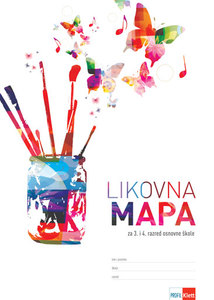 LIKOVNA MAPA 3-4, za 3. i 4. razred osnovne škole (Profil)