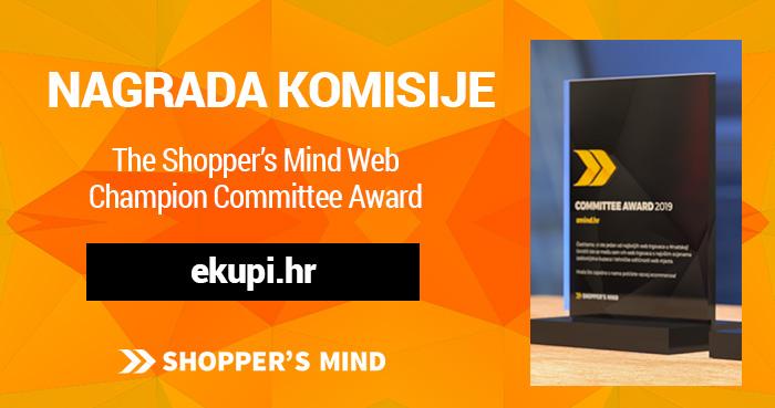 Nagrada komisije najbolji web trgovac web shop ekupi