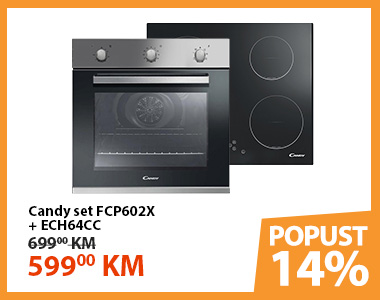 Candy set FCP602X + ECH64CC